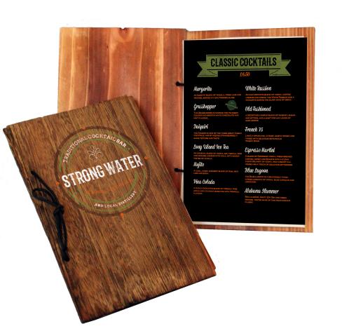 menu Rustic